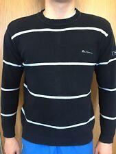 Ben Sherman Mens Size M / L Striped Jumper Sweater