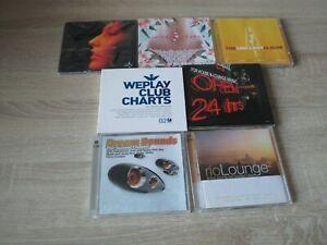 13 Clubsounds Musik Sammlung Weüplay Club Charts 02 + Rio Lounge 02 + ....