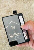 MARLBORO Cigarette Case  Box with Windproof USB Lighter