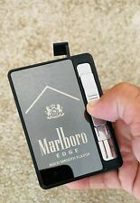 Marlboro Cigarette Case Box with Windproof Usb Lighter