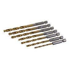 Silverline 819714 Hex Shank Mèche Set 7pce 3 - 6.5mm