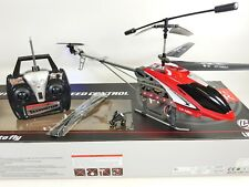 HUGE Metal Remote Control RC 1201 Volitation Alloy 3ch GYRO R/C Helicopter Drone