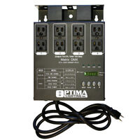 Matrix DMX Dimmer Pack as CH DMX-4 & Elation DP-DMX20L