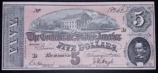 American 5 dollars banknote, 1864year,(good condition)