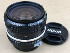 Nikon 28mm f/3.5 NIKKOR Non Ai Manual Focus Lens - Great Glass