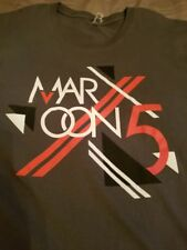Maroon 5 Shirt - 2013 Honda Civic Tour - Band Shirt - Xl