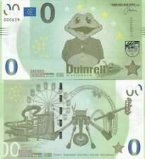 Biljet billet zero 0 Euro Memo - Duinrell Wassenaar (038)