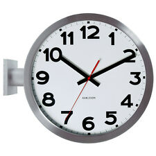 Karlsson Play Double Sided Aluminium 38cm Wall Clock