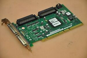 Adaptec ASC-39320A/DELL FMS ROHS 2 Channels Ultra320 SCSI PCI-X-133 Card 0FP874