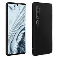 Coque Xiaomi Mi Note 10/Note 10 Pro Protection Souple Finition Mate - Noir