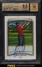 2017 Upper Deck Goodwin Champions Photo Variations Tiger Woods AUTO #45 BGS 9.5