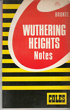 Wuthering Heights Coles Notes Study Guide - HTF - Bronte