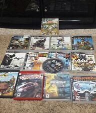 Lot of 14 PS3 Games Playstation Bundle In Box / Manual