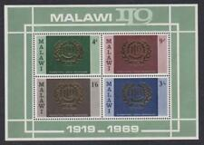 Malawi # C113a , International Labor Organization , VF OG NH S/S - I Combine S/H