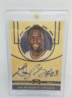 2012-13 Panini Threads Draymond Green #235 Rookie Auto On Card