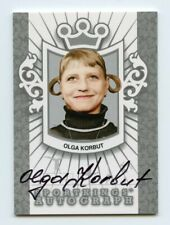Olga Korbut 2013 Sportkings Series F Autograph Silver KCCP180