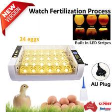 Digital 24/32/56 Egg Incubator Chicken Hatcher Automatic Turn Temperature Contro