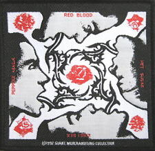 RED HOT CHILI PEPPERS PATCH / AUFNÄHER # 1 BLOOD SUGAR SEX MAGIK - 10x10cm