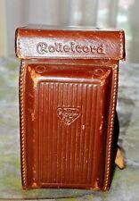 Rolleicord Va & Vb Leather case Original Rolleicord Case