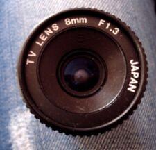 Objectif tv lens 8mm f1.3 Japan