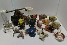 Vintage Barnyard Commandos Lot W/ Weapons Playmates 1989-90