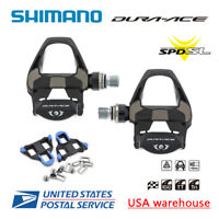 NEW Shimano Dura Ace PD-R9100 Carbon SPD-SL Road Bike Pedals Clipless Cycling
