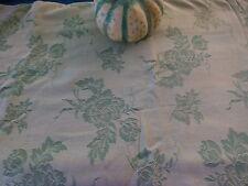 toile de matelas vert amande  1,35x0,80ancienne ,couleur rare  a saisir!!!