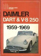 Daimler Dart SP250 & V8-250 libro de prueba de carretera.. Brooklands