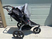 Bob Revolution Pro Jogging Stroller Single Very Clean Gently used Black Gray