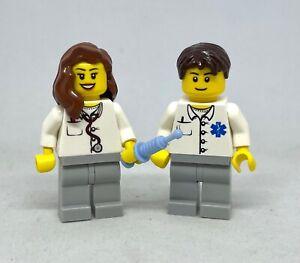 LEGO City - Doctor & Nurse Minfiigure - NHS, Great Gift, Collectible
