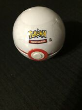 New Pokemon Summer 2020 Poke Ball Tin PREMIER BALL 3 Boosters + 1 Coin SEALED!
