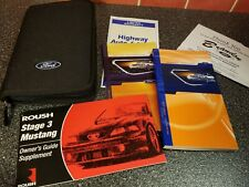 ☆☆ 2003 FORD ROUSH MUSTANG OWNERS MANUAL GT LX PORTFOLIO SET   ☆☆