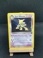 Dark Alakazam 1/82 Rare Holo Pokemon Card Team Rocket Excellent/NM
