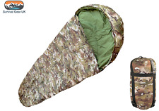 BTP MTP MULTICAM MILITARY STYLE SLEEPING BAG ARMY CADET CAMPING FREE DELIVERY
