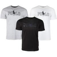 Polo Ralph Lauren Men's Athletic Wear Short Jockey Graphic Gym Workout T-Shirt