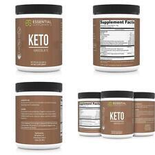 Essential Supplements Exogenous Cétone Keto Bhb Chocolat Poudre pour Ketogeni