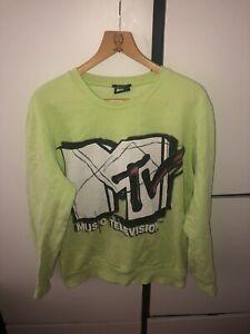 "Herren Sweatshirt ""MTV Music Television"" Top Zustand"