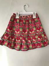 Hanna Andersson Ruffle Pink Pear Flower Skirt Size 100 (3-5 Year)