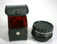 COSINA POWER-MACRO AUTO 2X TELE CONVERTER - 52mm