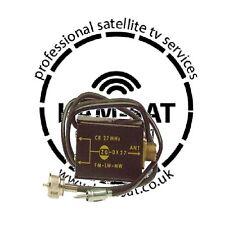 CB ANTENNA SPLITTER ZETAGI DX 27 27MHz Max power input 100W FM LM MW