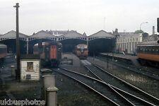 CIE trains at Dublin Heuston 1983 Eire Rail Photo