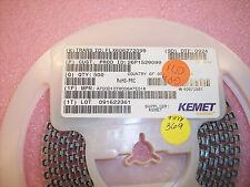 QTY (50) A700D107M006ATE018 KEMET ALUMINUM ORGANIC 100uf 6.3V D CASE