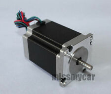 Nema24 CNC Router Stepper Motor 2 Phase 4 Wire GB24H2100-42-4A Single Shaft 4 Nm