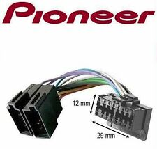 CABLE ISO ADAPTATEUR AUTORADIO PIONEER 16 PIN COMPLET QUALITE SUPERIEURE 16PIN