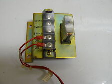 FAUNC A05B-2051-C051 TERMINAL CONNECTION BLOCK W/ OMRON G2R-212-S-V-US RELAY