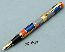 Hero 767 Colorful Fountain Pen Medium Nib Without Box