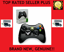 OFFICIAL XBOX 360 Wireless Controller Video Game Pad Black Genuine OEM CHROME