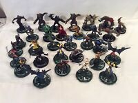 Marvel Heroclix X-Men 30 Figures Lot 2000-02 Wizkids Painted Plastic Scary Game