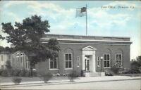 Dawson GA Post Office c1920 Postcard