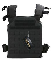 Kombat UK Spartan Molle Plate Carrier BLack